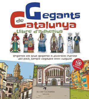 GEGANTS DE CATALUNYA LLIBRE D'ADHESIUS