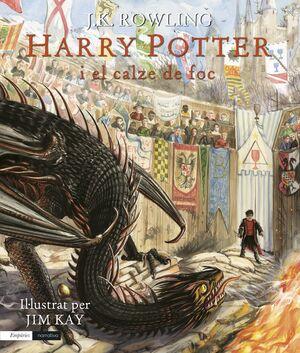 HARRY POTTER I EL CALZE DE FOC (EDICIÓ IL·LUSTRADA