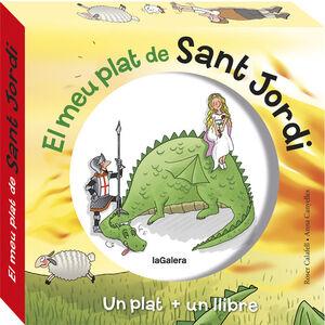 EL MEU PLAT DE SANT JORDI