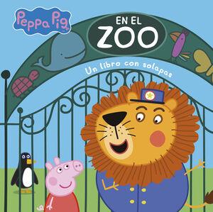 PEPPA PIG. EN EL ZOO (CARTON SOLAPAS)