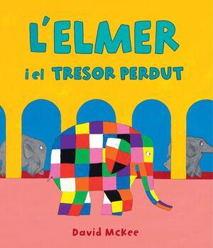 L'ELMER Y EL TRESOR PERDUT (L'ELMER. ALBUM IL·LUSTRAT)