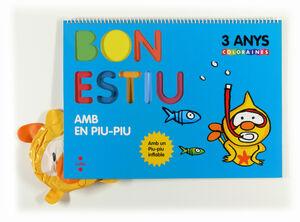 BON ESTIU AMB EN PIU-PIU. 3 ANYS. COLORAINES