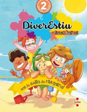 DIVERESTIU D'AVENTURES AMB LA COLLA DE L'ESQUIROL. 2 PRIMÀRIA