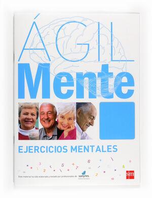 ÁGILMENTE: EJERCICIOS MENTALES. AZUL