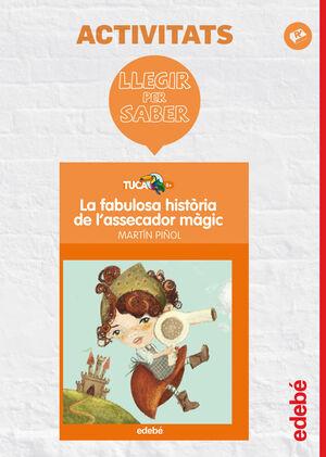 LLEGIR PER SABER: LA FABULOSA HISTÒRIA DE L'ASSECADOR MÀGIC