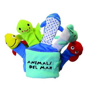 LLIBRE GUANT ANIMALS DEL MAR