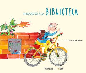NICOLÁS VA A LA BIBLIOTECA