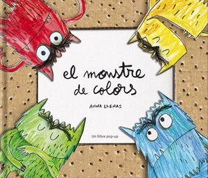 EL MONSTRE DE COLORS, UN LLIBRE POP-UP
