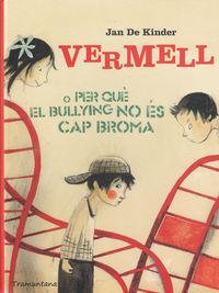 VERMELL O PER QUE EL BULLYING NO ES CAP BROMA - CAT