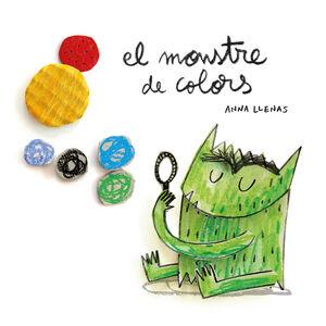 EL MONSTRE DE COLORS, EN CARTONÉ