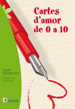 CARTES D'AMOR DE 0 A 10