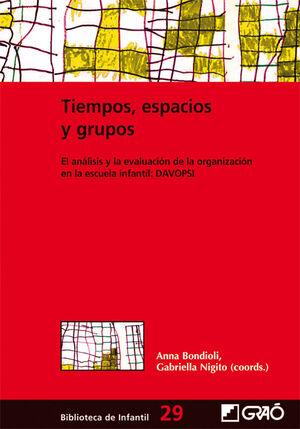 TIEMPOS, ESPACIOS Y GRUPOS