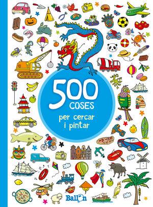 500 COSES PER CERCAR I PINTAR - BLAU